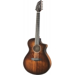 Breedlove Pursuit Exotic Concert Bourbon CE 12-String