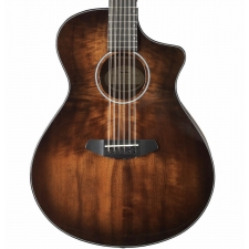 Breedlove Pursuit Exotic Concert CE Electro 12-String in Bourbon With Gig Bag