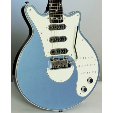 Brian May Red Special Sig Guitar in Windermere Blue with Padded Gig Bag