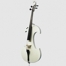 Bridge Draco Electric Cello In White With Hard Case