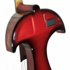 Bridge Draco Electric Cello in Red With Hard Case