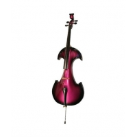 Bridge Draco Electric Cello in Purple / Black