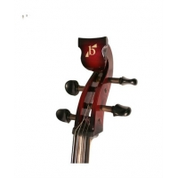 Bridge Draco Electric Cello in Red / Black