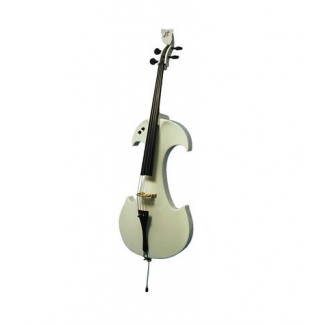 Bridge Draco Electric Cello In White