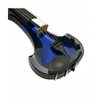 Bridge Lyra 5 String Electric Violin In Blue / Black