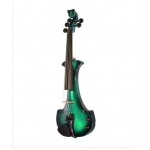 Bridge Lyra 5 String Electric Violin In Green / Black