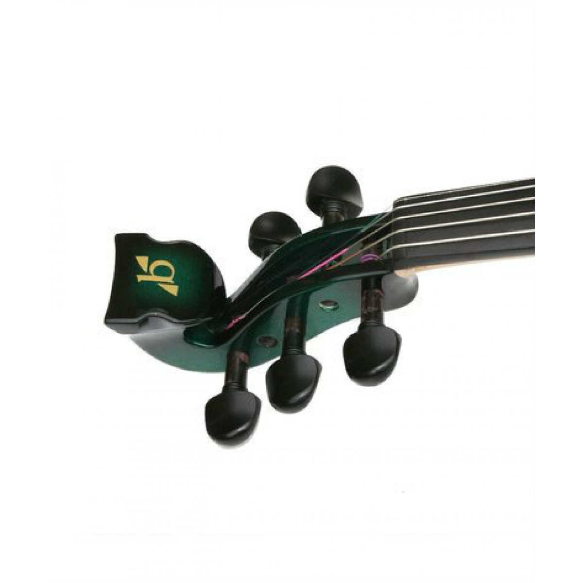 Bridge Lyra 5 String Electric Violin Green Black at