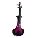 Bridge Lyra 5 String Electric Violin In Purple / Black