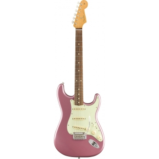 Fender Vintera '60s Stratocaster Modified Model, Burgundy Mist Metallic