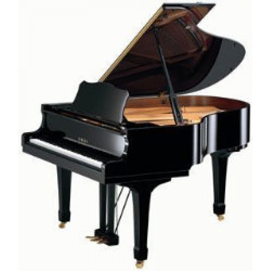 The gallery for yamaha black grand piano for Yamaha black baby grand piano
