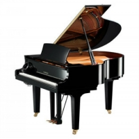 Yamaha C1X-SH Silent Grand Piano in Polished Ebony