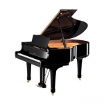 Yamaha C2M  Grand Piano in Black Polyester