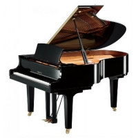 Yamaha C3X Acoustic Grand Piano in Polished Ebony