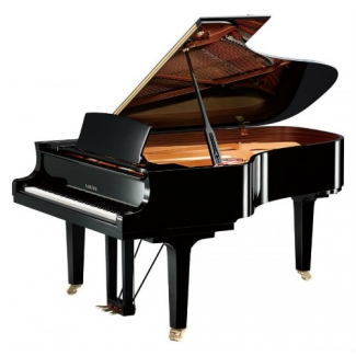Yamaha C6X-SH Silent Grand Piano in Polished Ebony