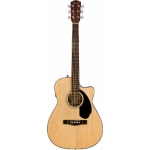 Fender CC60SCE Electro Acoustic in Natural