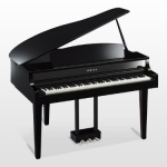 Yamaha CLP665GP Digital Grand Piano in Black Polished Ebony