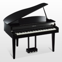 Yamaha CLP665GP Digital Grand Piano, Polished Ebony