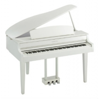 Yamaha CLP665GP Digital Grand Piano, Polished White