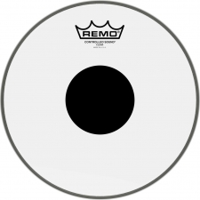 "Remo Controlled Sound 10"" Black Dot Clear Batter Top Head (CS031010)"