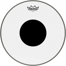 """Remo Controlled Sound 14"""" Clear Batter Top Head with Black Dot (CS031410)"""