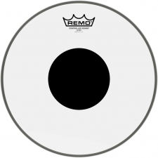 """Remo Controlled Sound 12"""" Clear Batter Black Dot Top (CS031210)"""