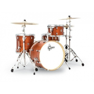 Gretsch Catalina Club Jazz 18'' 4 Pc Shell Pack, Satin Walnut Glaze