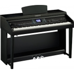 Yamaha CVP601 Clavinova Digital Piano in Black Satin