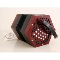 Carreg Las Anglo Button Concertina in G/C