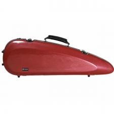 Sinfonica Rocket Violin Case For 4/4 Size Violin Cherry Red (VC024)