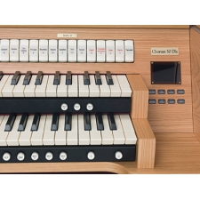 Viscount Chorum 50 Deluxe Compact Organ With 30 Note Pedalboard & Bench