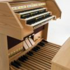 Viscount Chorum 90 Deluxe Classical Organ With 32 Note Pedalboard & Bench