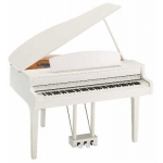 Yamaha CLP695GP Digital Grand Piano in Polished White