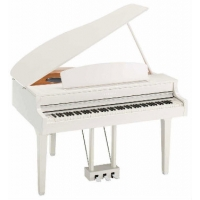Yamaha CLP695GP Digital Grand Piano, Polished White