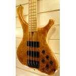 Marleaux Consat Custom 4 String Bass Guitar with Figured Ash Top, Secondhand