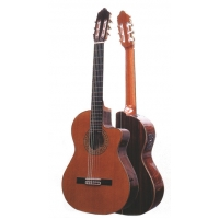 Mendieta Conservatoire ECE Electro Classical Guitar with Cutaway