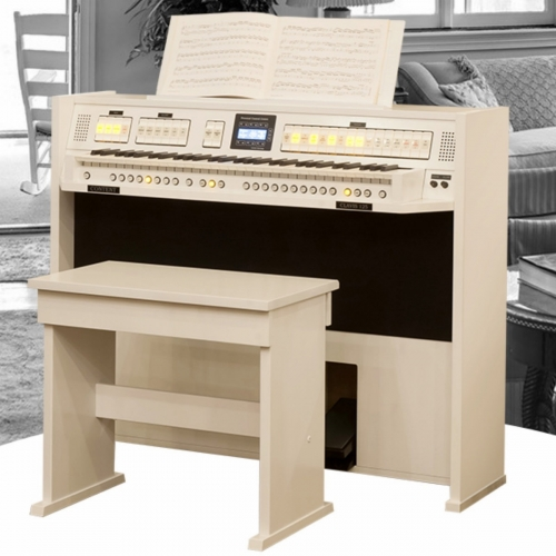 Content Clavis 125 Organ in Real Wood with Stool