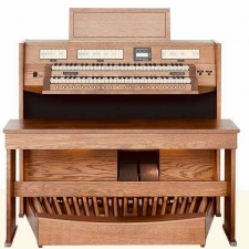 Content Clavis 224 Custom UK Specification Organ In Light Oak (CBM121)