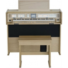 Content Clavis 125R Organ in Solid Wood With Stool In Dark Or Light Oak
