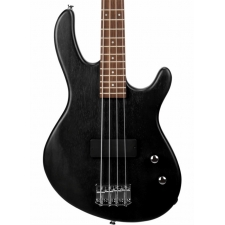 Cort Action Junior 4-String Short-scale Bass Guitar in Open Pore Black