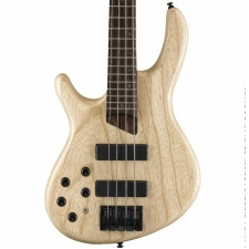Cort B4 Plus AS-OPN Artisan 4-String Bass in Open Pore Natural, Left-handed