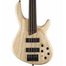 Cort B4FL Plus AS-OPN Artisan Series Fretless Bass in Open Pore Natural