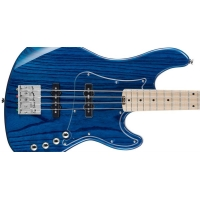 Cort GB74JJ-AB 4 String Bass Guitar in Aqua Blue