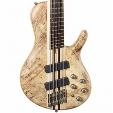 Cort A5 Plus SCMS Artisan Series 5-String Bass Guitar in Open Pore Natural