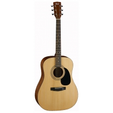 Cort AD810 Acoustic Guitar in Natural Open Pore with Bag