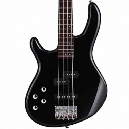Cort Action Plus 4-String Bass in Black, Left-handed
