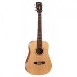 Cort Earth 50 Acoutic Guitar, Open Pore Natural