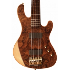 Cort Jeff Berlin 5-String Bass With Spalted Maple & Padouk Top