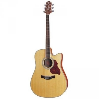 Crafter DE6N Electro Acoustic Guitar, Secondhand