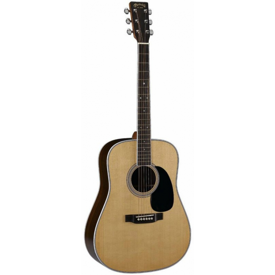 martin d35 dreadnought american acoustic guitar in natural hard case at promenade music. Black Bedroom Furniture Sets. Home Design Ideas