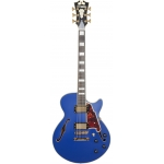 D'angelico Deluxe SS with Stoptail Tailpiece, Matte Royal Blue